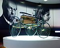 A replica of the Benz Patent Motorwagen that was built in 1885. This replica is located at Mercedes-Benz World at Brooklands 2.jpg