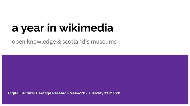 File:A year in Wikimedia. Open knowledge and Scotland's museums.pdf