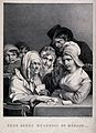 A young woman of humble origins, surrounded by children, is Wellcome V0025923.jpg