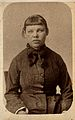 A young woman with a short fringe, showing signs of mental d Wellcome V0030008EL.jpg