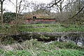 Abandoned mill at Tilty, Essex, England, 07 - abandoned shed and mill race from North.jpg