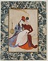 Abdullah Bukhari - A Couple in Amorous Embrace - LACMA M.85.237.49.jpg