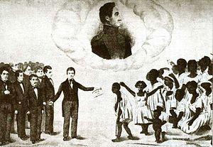 Venezuela - José Gregorio Monagas abolished slavery in 1854.