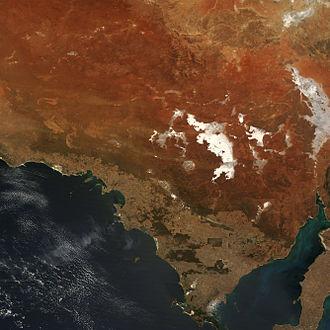 Acraman crater - Image: Acraman Impact Structure, South Australia