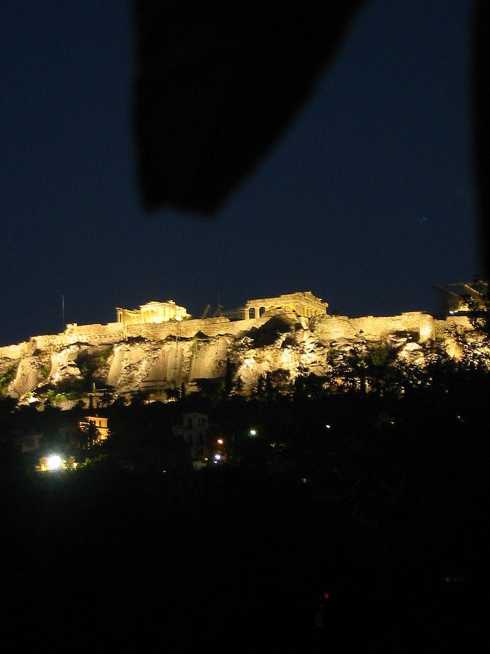 Acropolis at night (Athens)