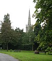 Across the green to the church - geograph.org.uk - 974410.jpg