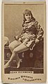 Adah Richmond, from the Actors and Actresses series (N45, Type 1) for Virginia Brights Cigarettes MET DP830510.jpg