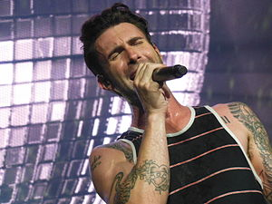 Adam Levine - Levine performing at the opening night of the Honda Civic Tour 2013