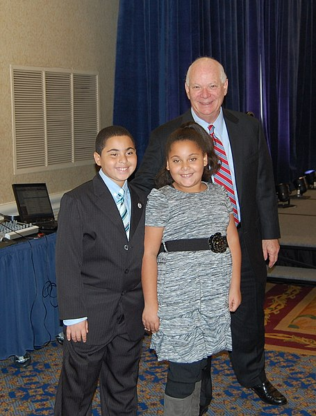 File:Adams children with US Senator BenCardin (6322298031).jpg