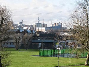 Adderley Park - Image: Adderley Park and City skyline geograph.org.uk 1633491