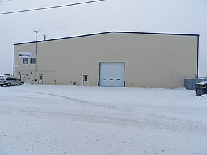 Adlair Aviation - Yellowknife base of Adlair Aviation