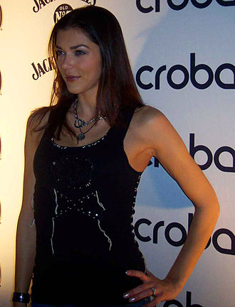 Adrianne Curry - Curry at Crobar Nightclub Chicago in October 2008