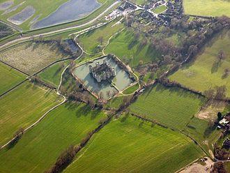 Bodiam Castle - Bodiam Castle was built on a fresh site.