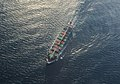 Aerial photograph of a cargo ship.jpg