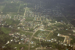 Belmopan City in Cayo, Belize