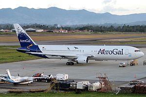 Avianca Ecuador - Aerogal Boeing 767-300ER