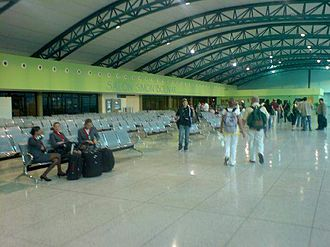 General José Antonio Anzoátegui International Airport - Image: Aeropuerto 13