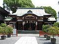 Aguchi-jinja haiden.jpg