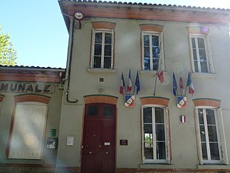 Aigrefeuille, Haute-Garonne - The town hall in Aigrefeuille