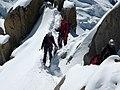 Aiguille du Midi alpinistes 4.JPG