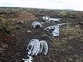 Aircrash Wreckage, Knock Fell - geograph.org.uk - 1925127.jpg