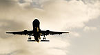 Airplane approaching to Palma de Mallorca airport.jpg