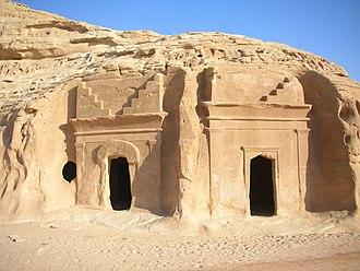 Hejaz - A view of Al-Hijr Archaeological Site