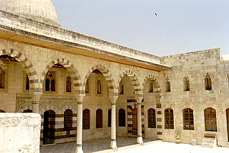 Azm Palace (Hama) - Upper courtyard of the palace