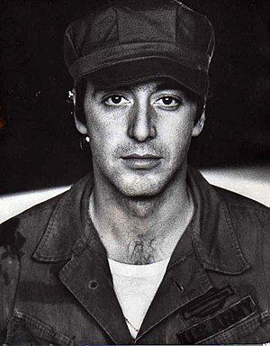 The Godfather - Al Pacino (pictured above in The Basic Training of Pavlo Hummel) was chosen to portray Michael Corleone