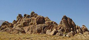 Os Montes Alabama, na Califórnia foram também frequentemente utilizados para a rodagem de westerns