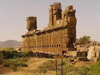 Alabanda - Remains of Alabanda's bouleuterion