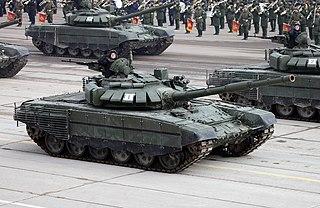 T-72 Soviet second-generation main battle tank