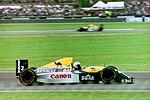 Alain Prost - Williams FW15C at the 1993 British Grand Prix (33557473781).jpg