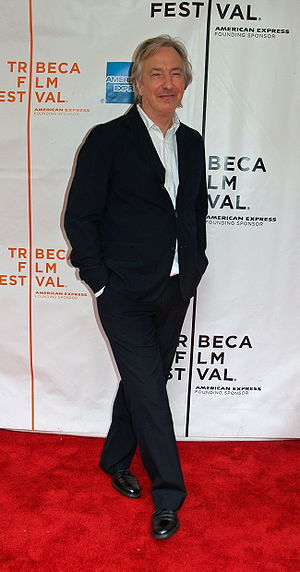 Alan Rickman - Rickman at the 2007 Tribeca Film Festival