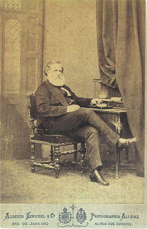 Alberto Henschel - Photo of Dom Pedro II. Rio de Janeiro (1875)