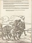 Albrecht Dürer - The Triumphal Chariot of Maximilian I (The Great Triumphal Car) (plate 5 of 8).jpg