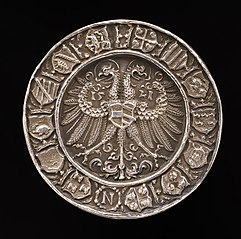 Coat of Arms on a Double-headed Eagle [reverse]