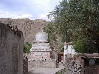 Alchi Monastery - Alchi chorten
