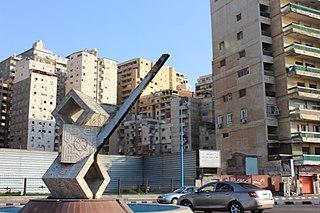 Sidi Bishr in Alexandria, Egypt