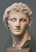 Alexander the Great, from Alexandria, Egypt, 3rd cent. BCE, Ny Carlsberg Glyptotek, Copenhagen (5) (36375553176).jpg
