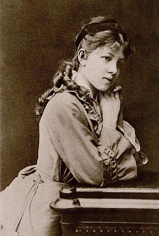 Александра Андреевна Блок — мать поэта. Варшава, 1880 год