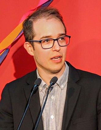 Alexandre Leduc - Alexandre Leduc at the launch of his 2018 campaign