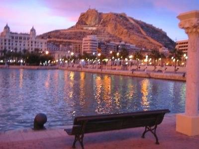 Alicante Spain CastilloSantaBarbara