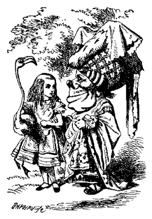 Duchess (Alice's Adventures in Wonderland) - Image: Alice par John Tenniel 32