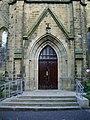 All Saints Church, Clayton-le-Moors, Doorway - geograph.org.uk - 677038.jpg