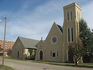 National Register of Historic Places listings in Scioto County, Ohio - Image: All Saints Episcopal Church in Portsmouth