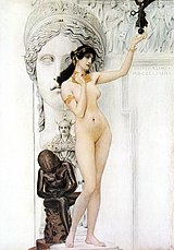 Allegory of sculpture Gustav Klimt.jpg
