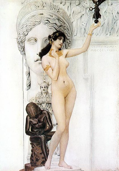 File:Allegory of sculpture Gustav Klimt.jpg
