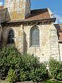 Allonne (60), église Notre-Dame de l'Annonciation, chœur roman, côté sud.JPG