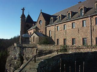 Mont Sainte-Odile Abbey abbey located in Bas-Rhin, in France